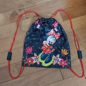 Free with 3 - Minnie Mouse backpack drawstring bag